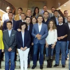 Los principales candidatos locales y autonómicos, se reúnen con Albert Rivera
