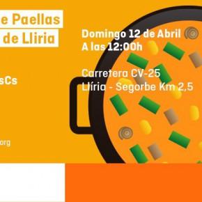 Festival de paellas en San Vicente de Llíria -Domingo 12 de Abril