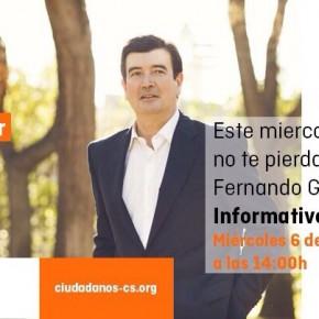 Entrevista a Fernando Giner en Levante TV