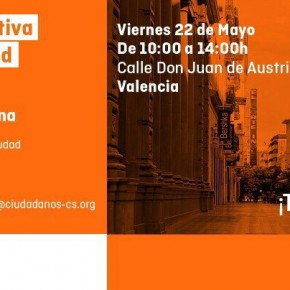 Carpa Informativa Ciudadanos. Viernes, 22 de mayo, en la Calle Juan de Austria