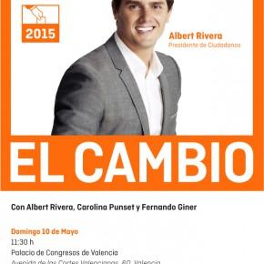 Acto de Campaña con Albert Rivera en Valencia