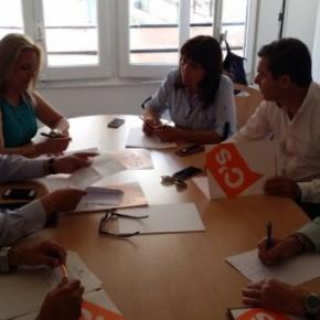 Primera reunión de trabajo del grupo municipal