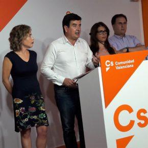 """Fernando Giner: """"Ciudadanos está asustado y preocupado por la deriva nacionalista del PSPV"""""""