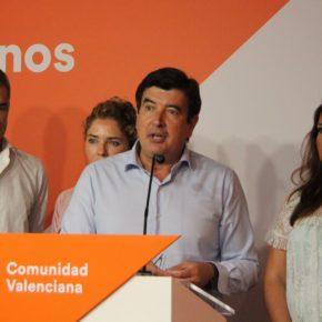 "Giner insta a Compromís a aclarar si está ""a favor o en contra"" del referéndum del 1 de octubre"