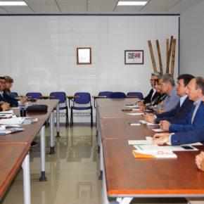 COEVAL y Ciudadanos se reúnen para tratar temas de interés para los empresarios de la comarca