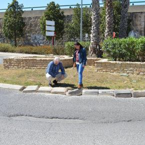 Cs Burjassot pide el reasfaltado de la carretera y el acondicionamiento de la rotonda junto al hospital IMED