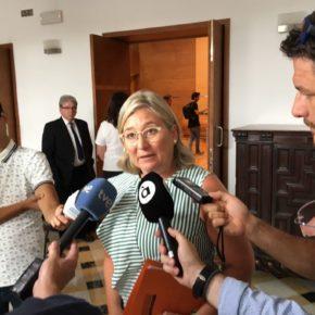 """Mamen Peris: """"Es un insulto a todos los valencianos que Jorge Rodríguez se aferre al sillón y siga como alcalde de Ontinyent"""""""