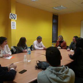 Ciudadanos se reúne con la asociación de empresarios Adexa para coordinar iniciativas de reactivación económica y empleo