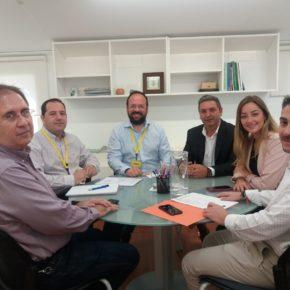 Los concejales de Cs Vilamarxant se reúnen con los diputados provinciales para reactivar el proyecto de la ronda norte