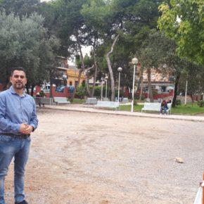 Cs Burjassot pide la instalación de una pista multideportiva en el parque de la Plaza de la Concordia