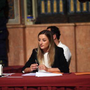 Cs pide un pleno extraordinario para que la vicepresidenta explique posibles irregularidades en la Diputación de Valencia
