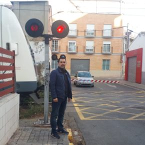Ciudadanos Burjassot consigue unanimidad para mejorar el paso a nivel de Mariano Ribera