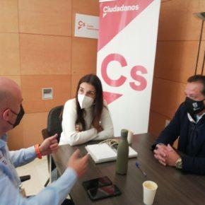 Los concejales de Cs Torrent se reúnen con la nueva síndica del partido naranja