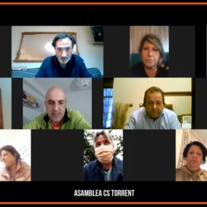 Cs Torrent se vuelca por el municipalismo y el trabajo del afiliado en la celebración de la  primera asamblea telemática