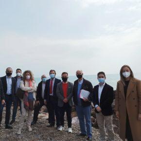 Cs se reúne con la asociación de vecinos de Almardà para estudiar soluciones integrales al deterioro de las playas