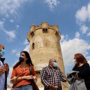 Ruth Merino visita Paterna para mostrar su apoyo y reconocimiento a la Cordà