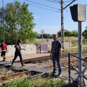 Burjassot solicitará a FGV mejores accesos peatonales en la estación de Canterería a petición de Ciudadanos